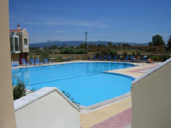 Aeolian Gaea Hotel: View of the pool