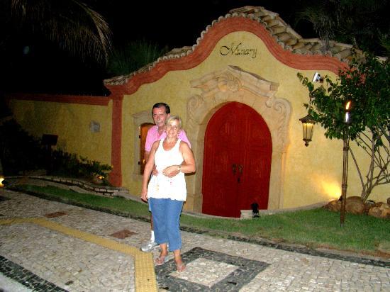 Manary Praia Hotel: Frente al Hotel