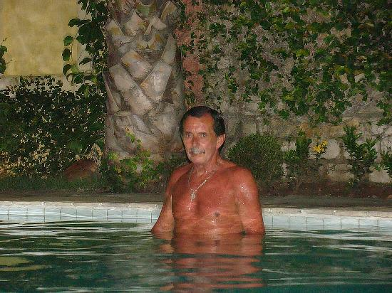 Manary Praia Hotel: de noche en la piscina