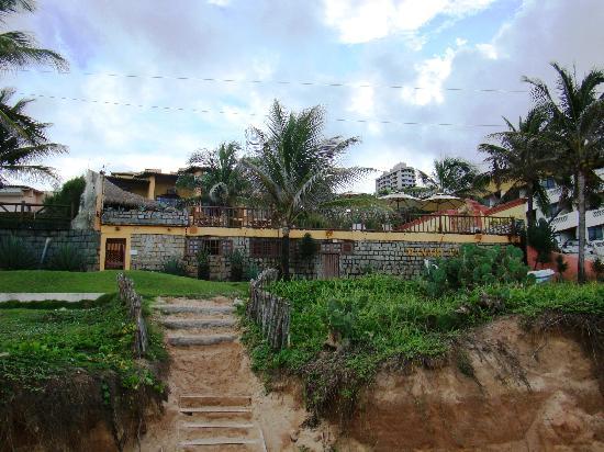 Manary Praia Hotel: hotel desde la playa