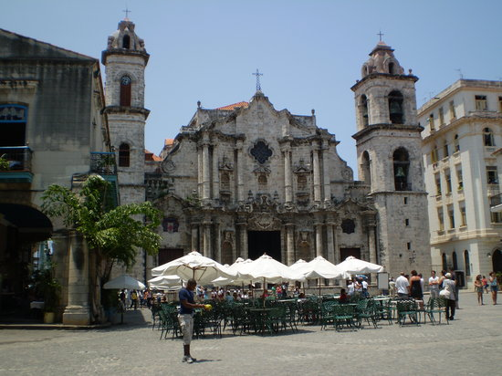 Havanna, Kuba: Plaza de la Catedral