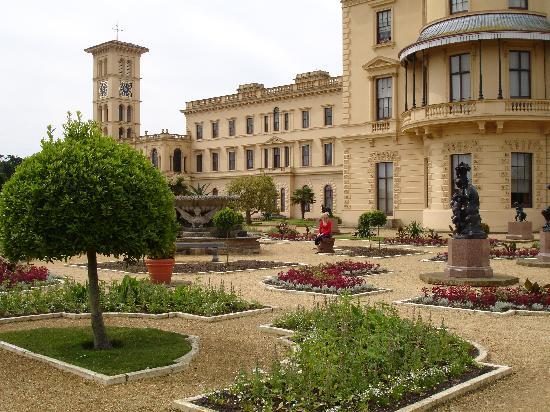 Osborne House: In the garden
