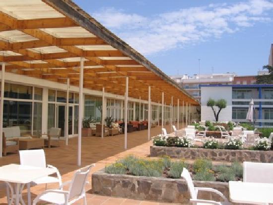 Parador de Benicarló: The Terrace