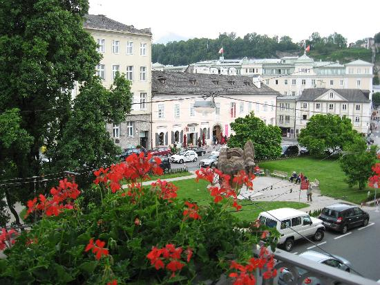 Bristol Hotel Salzburg : A view from our room