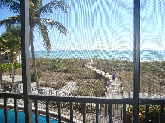 Sandpiper Beach: view from Sandpiper West #2