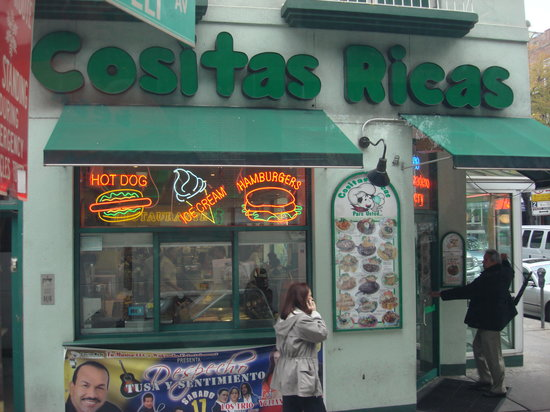 Jackson Heights, นิวยอร์ก: cositas ricas.new york city
