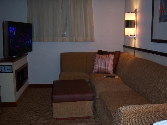 Hyatt Place Jackson/Ridgeland: Sofa area