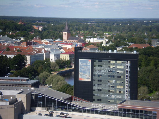 Tartu, Estonia: View from Tigutorn