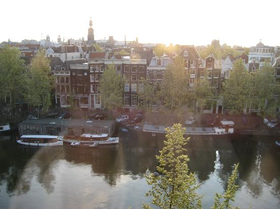 Grand Hotel Amrath Amsterdam: The view from our room!