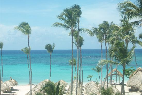 Iberostar Grand Hotel Bavaro: View from the fitness room.