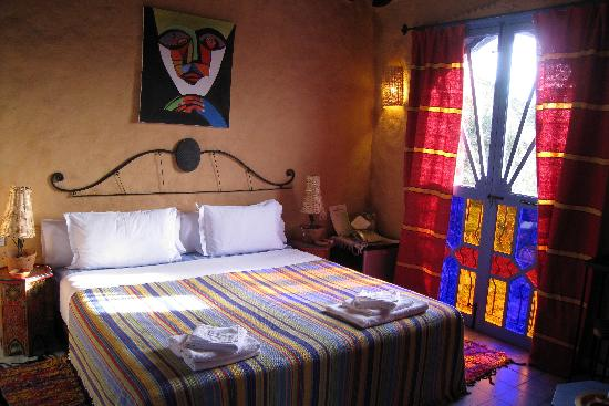 Dar Echchaouen: our room