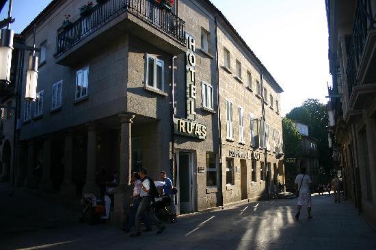 Hotel Ruas: Front of Hotel
