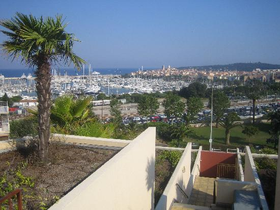 Resideal Antibes: View from the rooftop pool