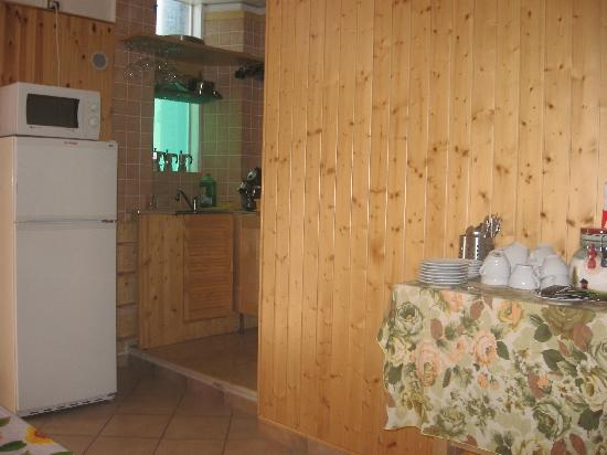 A Beautiful Florence: The kitchen with all its amenities