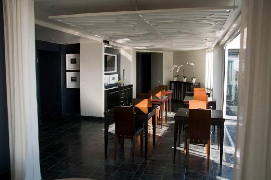 O on Kloof Boutique Hotel & Spa: Dining Room