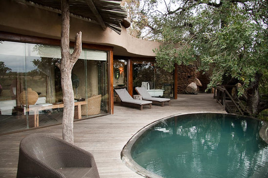 Singita Boulders Lodge: Sun Deck