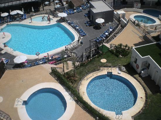 Hotel Los Patos Park : Vistas desde las plantas de los apartamento