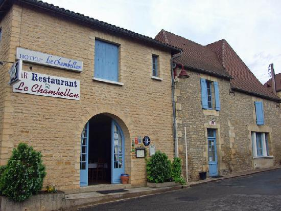 Le Chambellan: hotel front