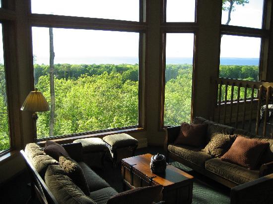Landmark Resort Egg Harbor >> Sitting area in our room - Picture of Landmark Resort, Egg Harbor - TripAdvisor