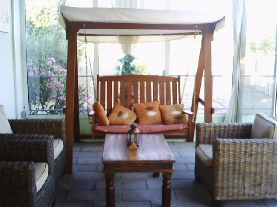 Olive Grove: swing chair