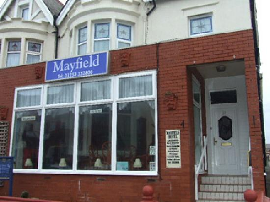 Mayfield Hotel : The front of the hotel