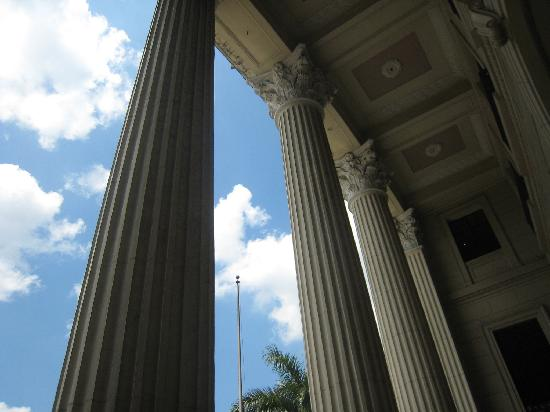 Museo Nacional: pillars of the Museum of the Filipino People