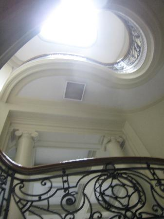 National Museum: staircase
