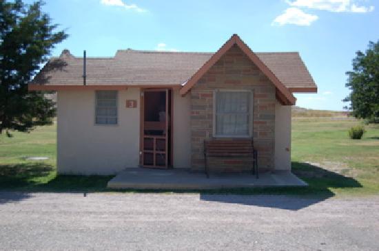 Cedar Pass Lodge: Our cabin