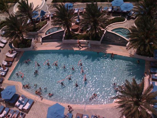 Hilton Fort Lauderdale Beach Resort Pool From 15th Floor