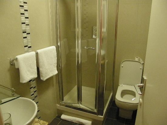Nice But Small Shower Room Picture Of West Cliff Inn Bournemouth