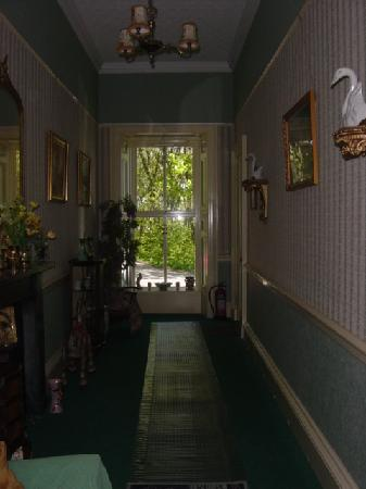 Berstane House: The entry hallway