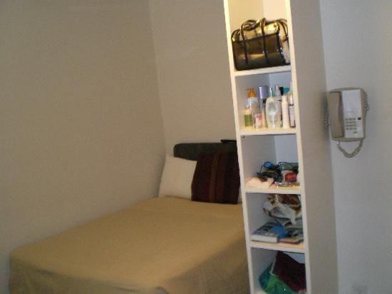Very small room picture of hotel occidental san diego for Very small room