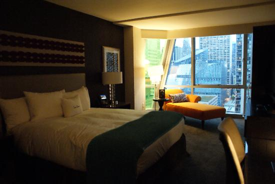 theWit - A DoubleTree by Hilton: View Upon Entering the Room