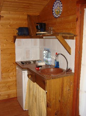 Las Cabanas De San Anton : cocina