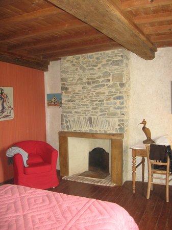 Bretteville-sur-Ay, فرنسا: chambre