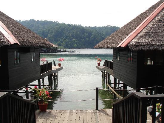 Gayana Eco Resort: view outside villa 27