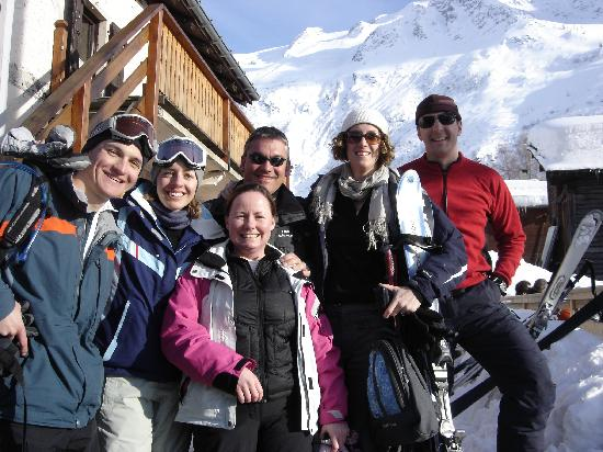 Chalet Chocolat : Happy skiers at the end of the week!