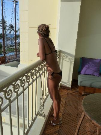 Iberostar Grand Hotel Bavaro: Vistas desde la terraza de la habitación de día