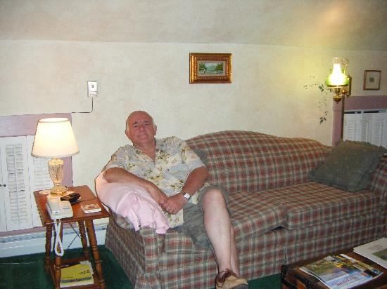 Fitch Hill Inn: Relaxing at The Fitch Hill Inn