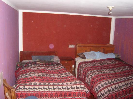 Hostal La Nusta : our bedroom