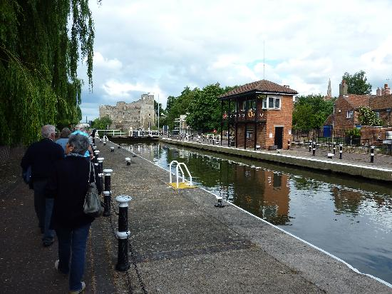 The Grange Hotel: A stroll by the river.