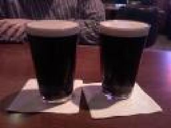 Kincaid's Fish, Chop & Steak House: Guinness on tap at Kincaids