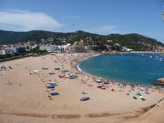 Hotel GHT Oasis Tossa & SPA: plage de tossa