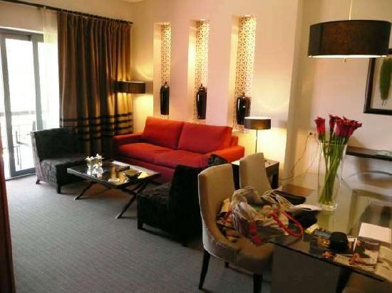 Sheraton Cascais Resort : Salita de nuestra habitación