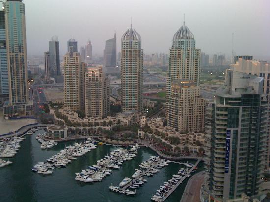 Dusit Residence Dubai Marina : View from our room