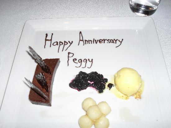 Restaurant Initiale : Our anniversary treat!