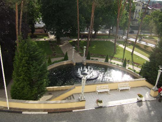 Sofitel Grand Sopot : The park at the front