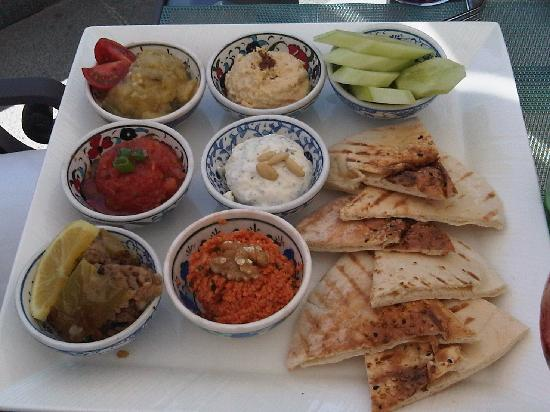 Four Seasons Istanbul at the Bosphorus: Mezze Platter lunch
