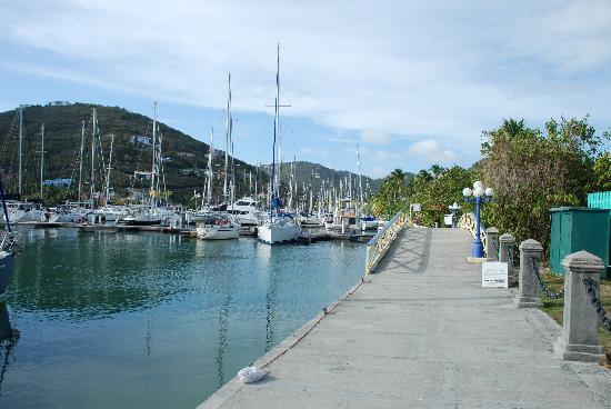 Nanny Cay Marina & Hotel: Nanny Cay Marina