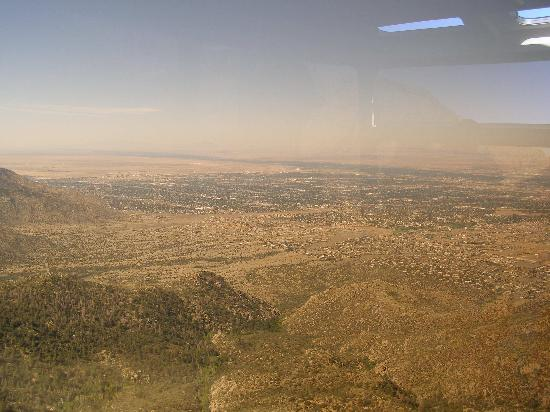 Sandia Peak Tramway: View of Albuquerque and beyond